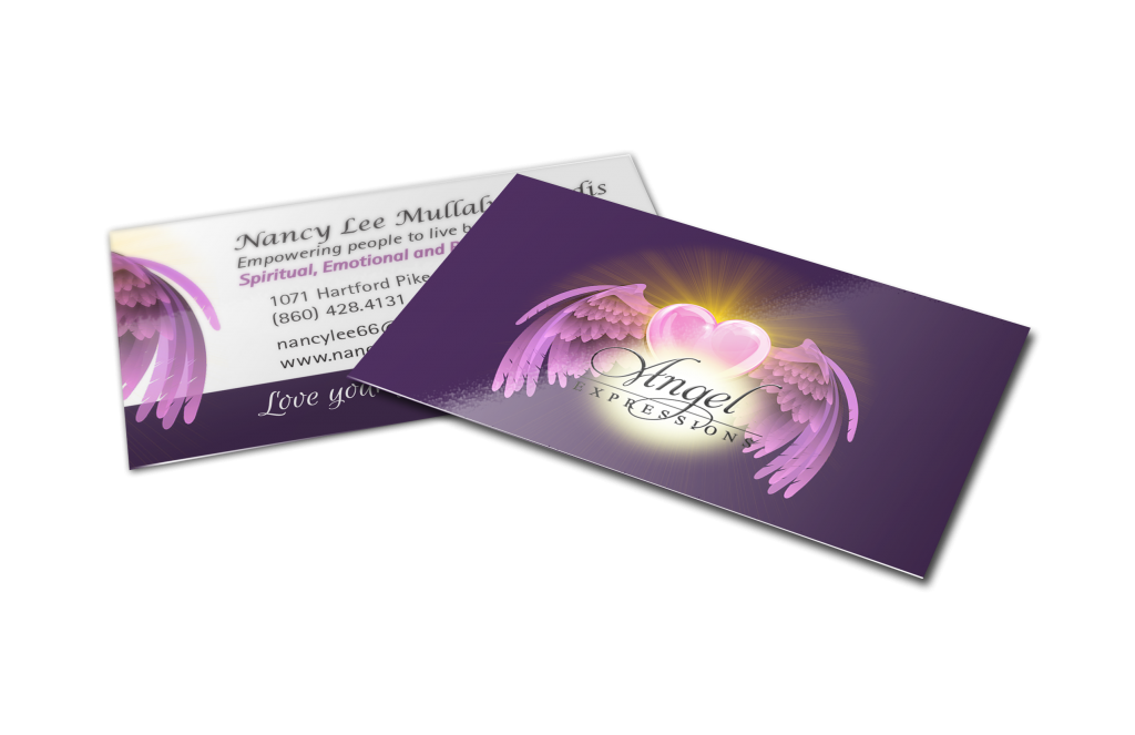 Angel Expressions Business Card Design