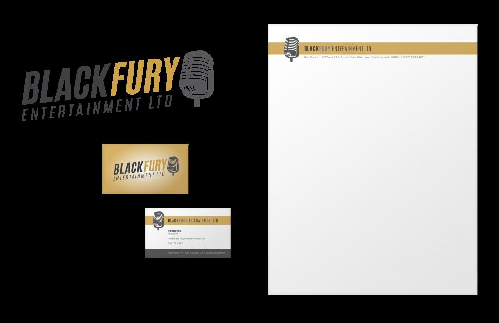 Blackberry Entertainment - Branding & Stationery