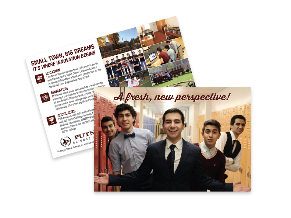 Putnam Science Academy - Postcard