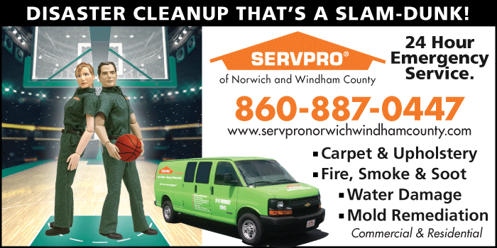 SERVPRO of Norwich and Windham County Advertising