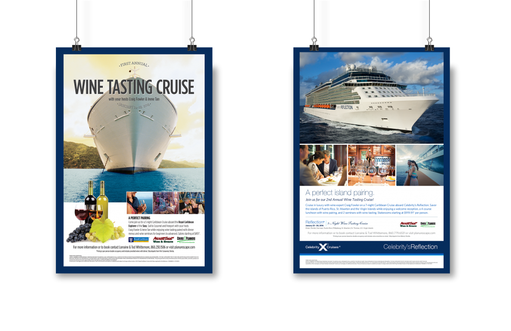 Cruise Planners - Poster Design