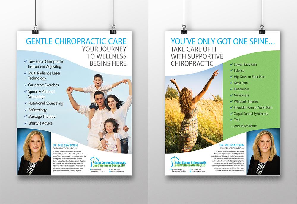 Quiet Corner Chiropractic Posters