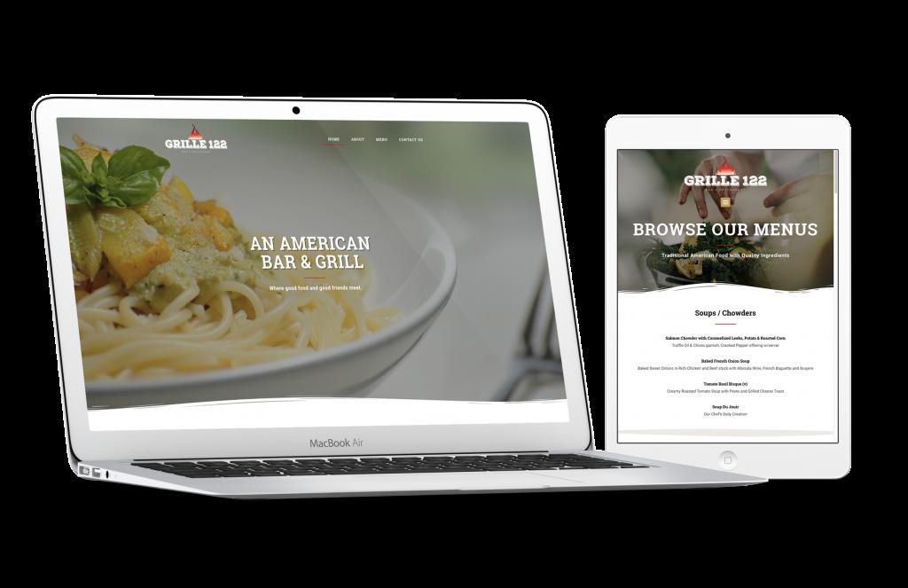 Grille 122 - Branding/Website