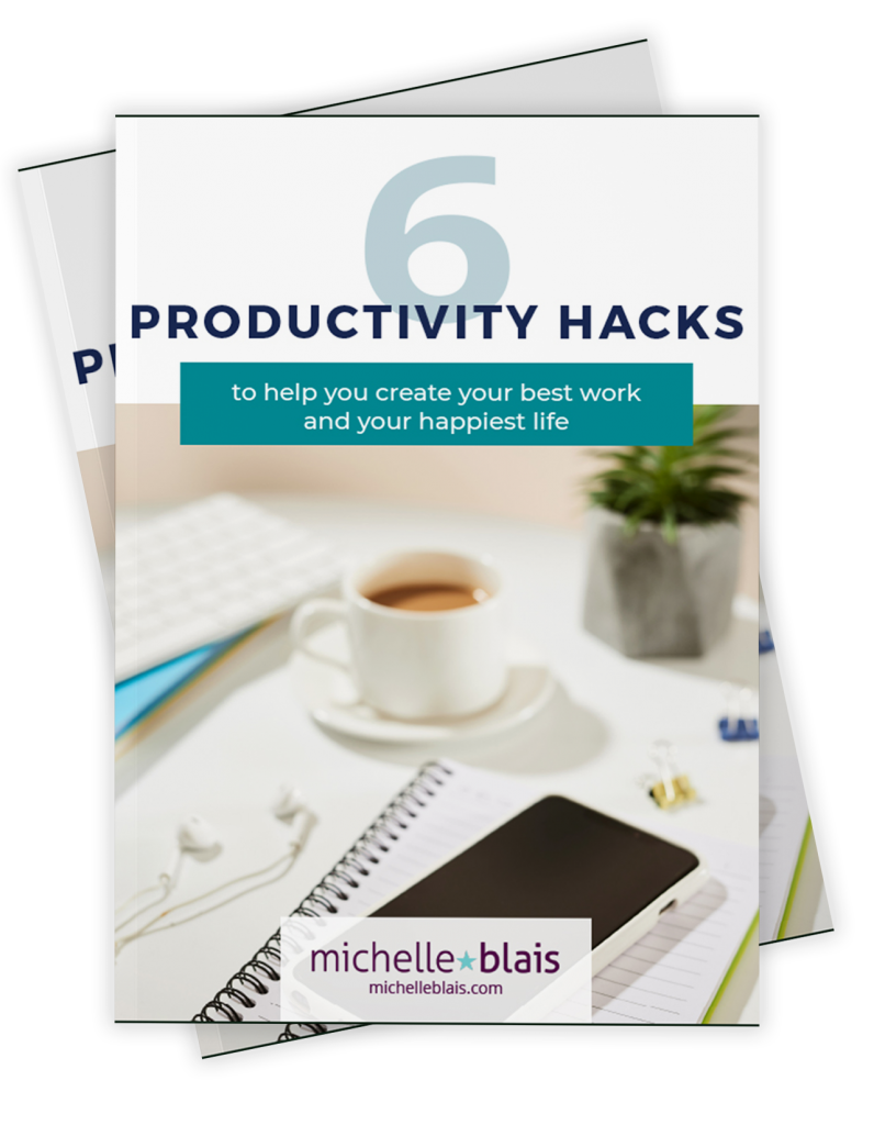 MB Graphic Design - 6 Productivity Hacks